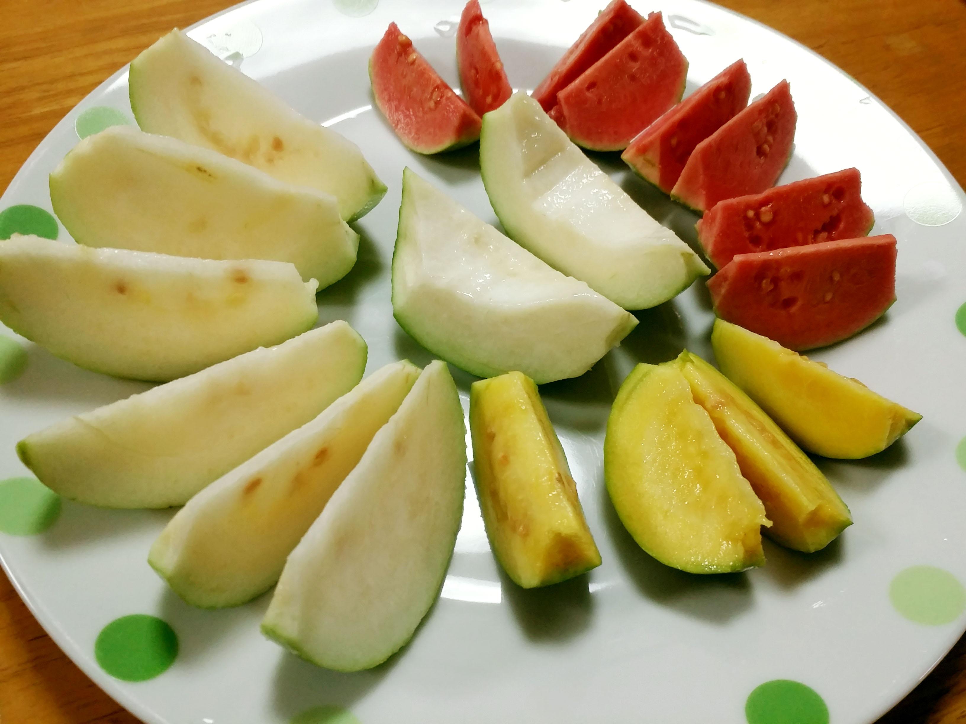 方 グァバ 食べ